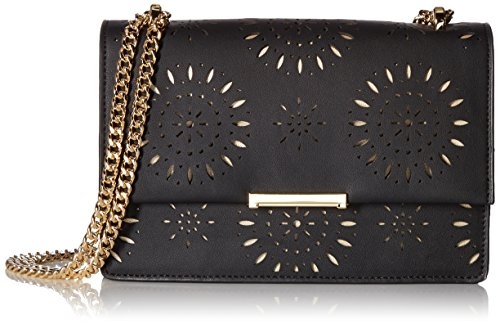Ivanka Trump Mara Cocktail Bag, Black (Lasercut) by Ivanka Trump