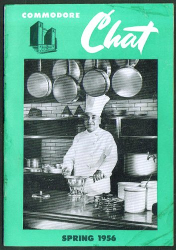 Chef Amblard: Commodore Hotel Chat Spring 1956 N Y City (Chat Spring)