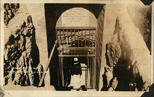 Entrance to Tomb - Valley of the Kings Luxor, Egypt Original Vintage -