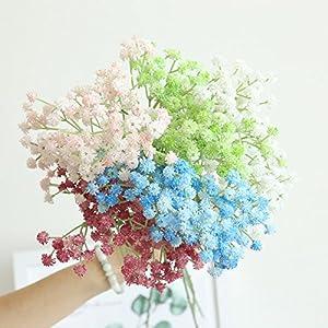 Artificial Gypsophila Floral Flower Fake Silk Wedding Party Bouquet Home Decor 3