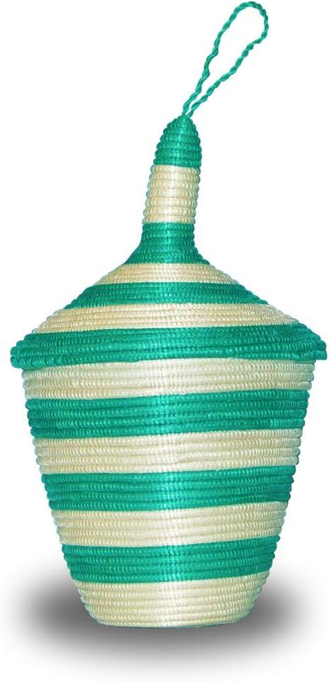 Rich Gold Size 12inches Designer Green Color Fruit Basket Bowl African Gift Shop| Rwanda Basket Bowl Handcrafted Weaved Basket Bowl| Woven Bowl|Sisal /& Sweetgrass Basket Round Basket