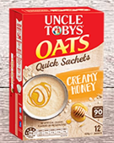 uncle-tobys-oats-12-quick-sachets-creamy-honey-ready-in-90-seconds