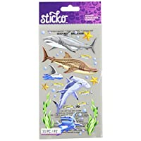 Sticko 52-00779 Sharks, Multicolor