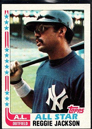 Baseball MLB 1982 Topps #551 Reggie Jackson AS NM-MT Yankees