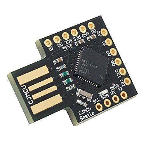 Black Clock Beetle - TOOGOO(R) CJMCU-Beetle USB ATMEGA32U4 Mini Development Board For Arduino Leonardo