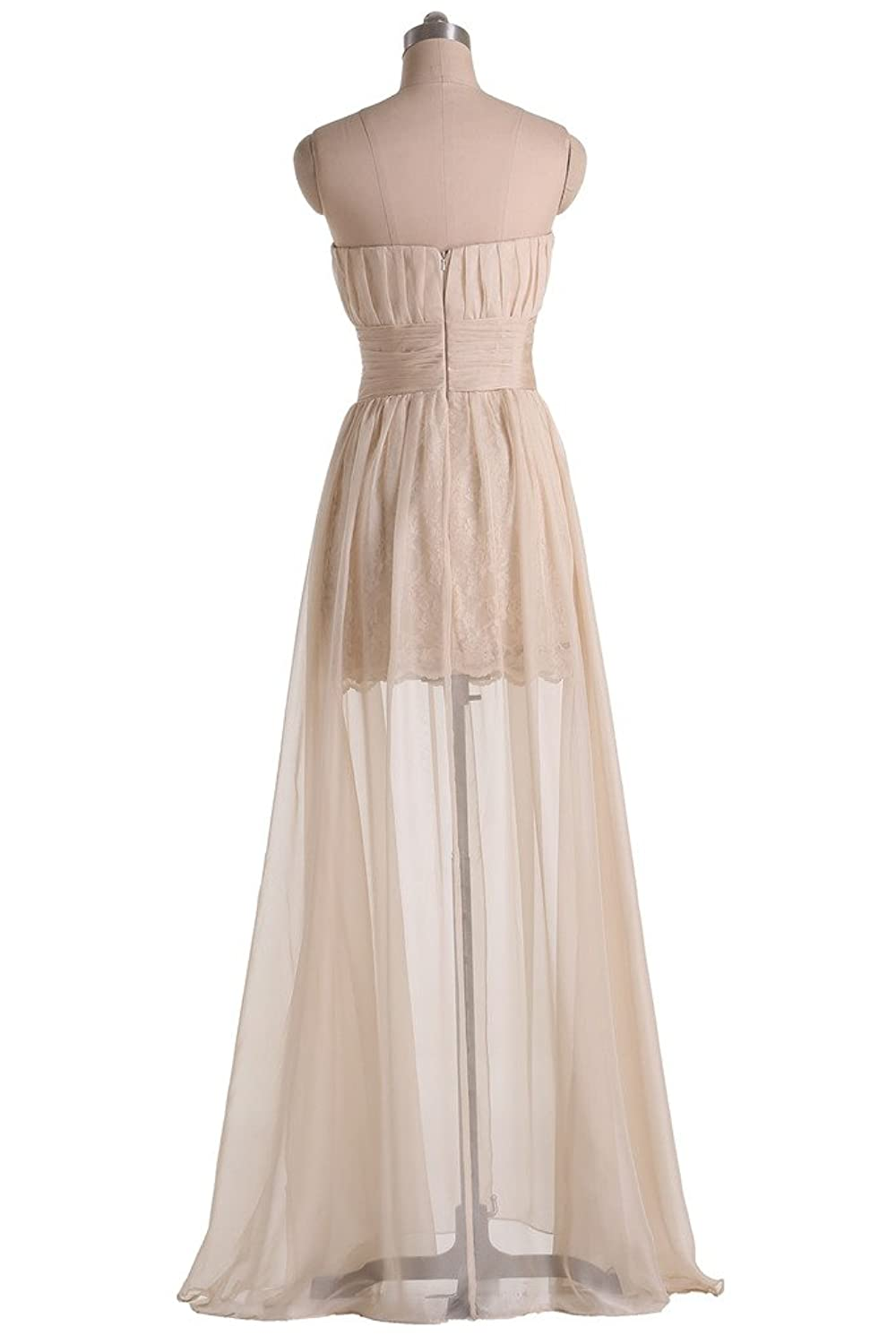 Sunvary Champagne Tulle Prom Pageant Gowns Elegant Stylish Evening Dresses
