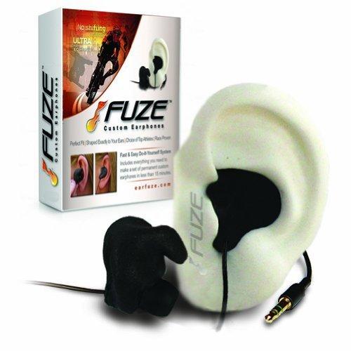 FUZE Custom Earphones by Earfuze - Custom molded fit headphones for sports, motorcycle, racing, running