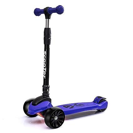 Patinetes de tres ruedas Scooter de Pedal Ancho, manillares ...