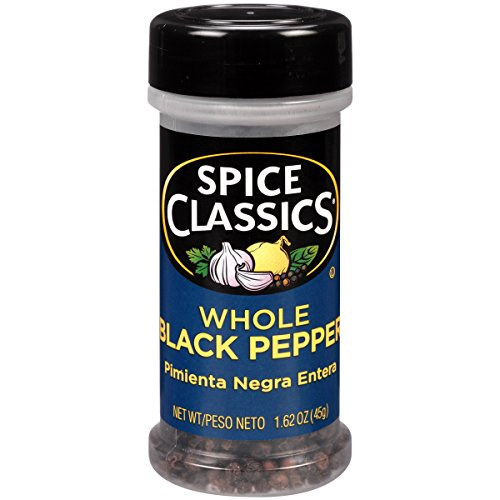 Spice Classics Whole Black Pepper
