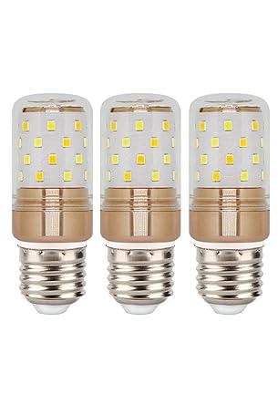 E27 LED Bullbs, Hight Bright 12W Daylight White LED Light Bulb 1000lm, 6W Warm
