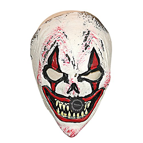 Monstleo Latex Rubber Head Mask Halloween Party Costume Decorations Clown