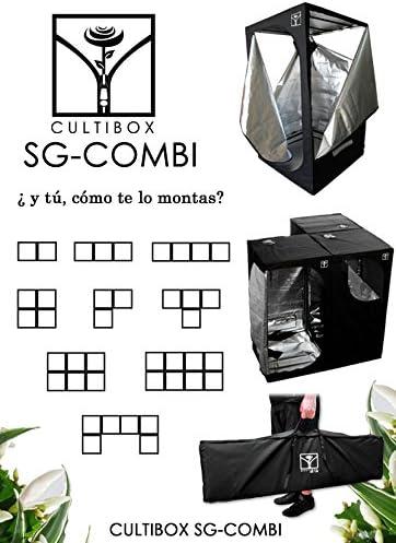 Armario para Cultivo de Cultibox SG-Combi 60x60x140cm