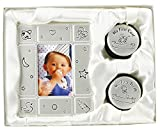 First Tooth And Curl Keepsake Box With Photo Frame By Haysom Interiors