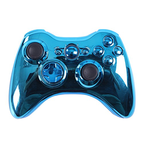 xbox 360 controller cover chrome - 2