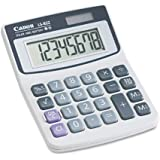 (3 Pack Value Bundle) CNM4075A007AA LS82Z Minidesk Calculator, 8-Digit LCD
