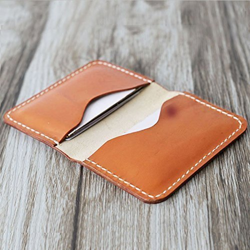 personalized handmade slim leather wallet credit card holder slim wallet italy oiled leather hold 30 - Personalized Credit Cards