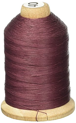 YLI 21100-022 3-Ply T-40 Cotton Hand Quilting Thread, 1000 yd, Cabernet