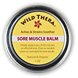 Natural Pain Relief Cream for Muscle Aches, Cramps, Knee Pain, Leg Pain, Back Pain, Heel Pain, Tennis Elbow. Can be used with Carpal Tunnel Brace, Muscle Roller & after TENS.