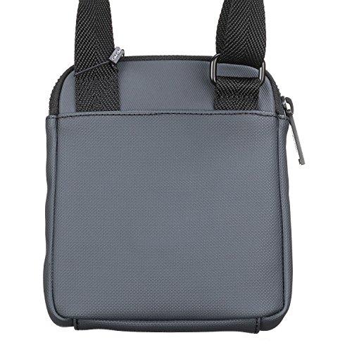 Calvin Klein - Bolso al hombro para hombre gris