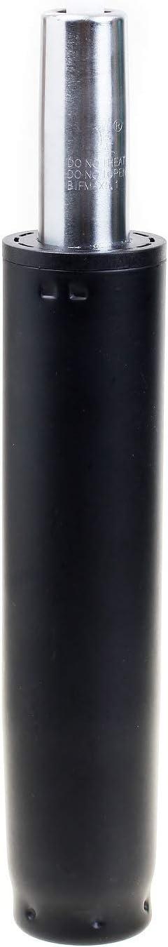 TUKA Muelle de Gas para Silla de Oficina y Taburete, 200mm Cilindro, 260-380mm Longitud Total, Repuesto Cilindro Elevador de Gas, Resorte Amortiguador de Gas, Negro, TKD5201-120