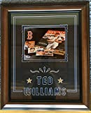 Ted Williams Signed 8x10 Photo Autograph Framed 20x24 PSA/DNA LOA Red Sox HOF