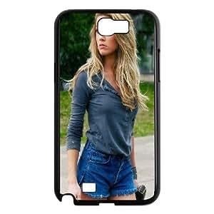 Amber Heard Samsung Galaxy N2 7100 Cell Phone Case Black phone component RT_217055