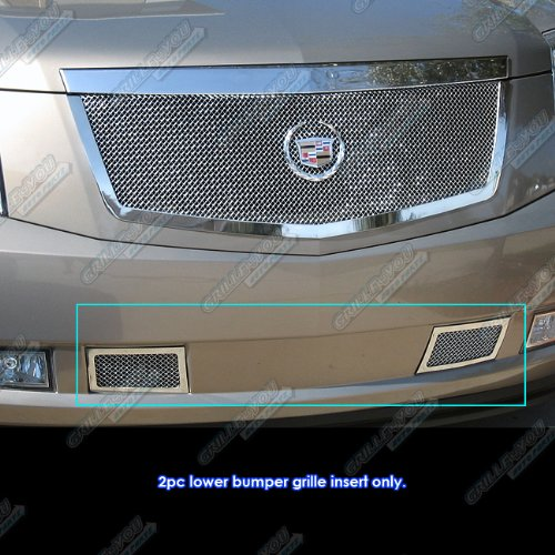 Cadillac Grill - 2007-2014 Cadillac Escalade Bumper Stainless Steel Mesh Grille Grill Insert # A76482T