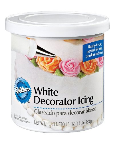 Wilton Ready To Use Decorator Icing, White (Frosting White)