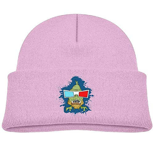 Knit Hat Beanies Cap Warm Skull Caps 3D Glasses Piranha Baby ()