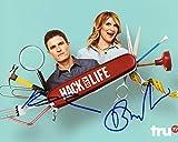 Brooke van Poppelen & Kevin Pereira'Hack My Life' AUTOGRAPHS Signed 8x10 Photo B