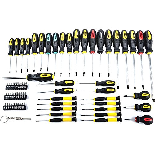 Home Tools Screwdriver Set Awls Torx Square Phillips JEGS 69 piece bits Repair Kit Phone Auto - Online Usa Shopping Websites