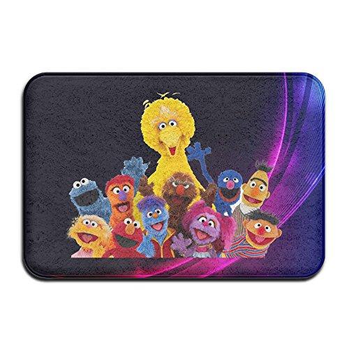 [Sesame Street Logo Anti-slip House Garden Gate Carpet Door Mat Floor Pads] (Ernie From Sesame Street Costume)