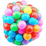 100 Pcs Colorful Soft Plastic Ocean Fun Ball Balls Baby Kids Tent Swim Pit Toys Game Gift 2.76