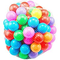 Scienish 100pcs/lot Eco-Friendly Colorful Soft Plastic Water Pool Ocean Wave Ball Baby Funny Toys Stress Air Ball…