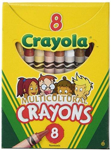 Crayola Multicultural Crayons Assorted Specialty