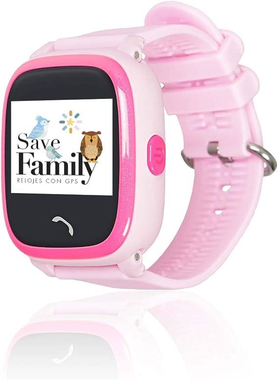 Reloj con GPS para niños SaveFamily Modelo Completo Rosa ...