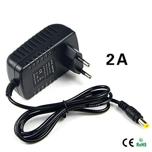 - 1Pcs light Switch Power Supply Charger Transformer Adapter 110V 220V to DC 12V 2A RGB LED Strip 5050 3528 EU Cord Plug Socket