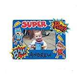 Foam Superhero Picture Frame Craft Kit-makes 12