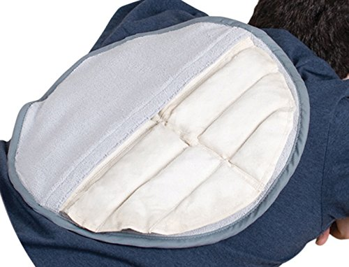 Relief Pak 11-1308-12 Hotspot Moist Heat Pack and Cover Set, Circular Pack with Terry and Foam-Fill Cover (Pack of 12)