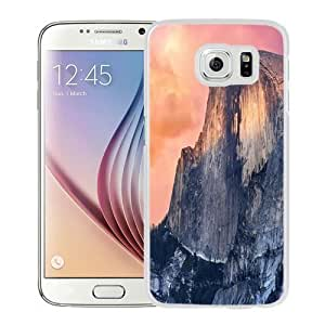 NEW Unique Custom Designed Samsung Galaxy S6 Phone Case With OS X Yosemite Cliff_White Phone Case Kimberly Kurzendoerfer