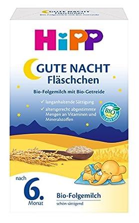 gute nacht fläschchen hipp