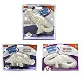 Nylabone Durable Dental Dinosaur Dog Chew Helps Fight Plaque & Tartar for Dogs(5 Pack All 3 Dinosaurs)