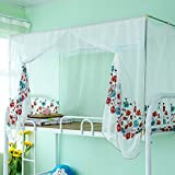 Best Prints Prints Prints Bed Canopies - Embroidered mosquito nets,Dorm gauze princess bed canopy print Review