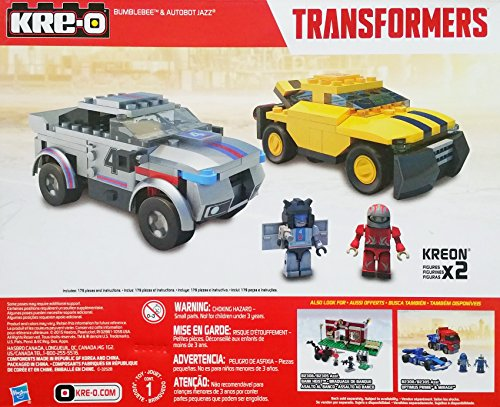 Kre-O Transformers Bumblebee and Autobot Jazz Building Toy