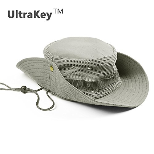 80d36b44da5 Boonie Hat UltraKey Outdoor Boonie Sun Hat Perfect for HikingFishingBoating  and Outdoors Sports Constructed with Polyester