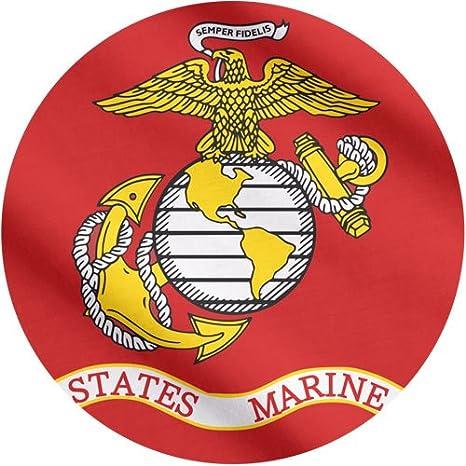 Amazon.com   US Marine Corps Flag 3x5 - 100% Made In USA using Tough ... a4a9cec50fa