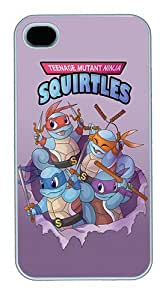 iPhone 6 plus 5.5 Cases and Covers,Teenage Mutant Ninja Squirtles Custom Slim Hard Case Snap-on PC Plastic Case Cover Shell for Apple iPhone 6 plus 5.5/6 plus 5.5 White