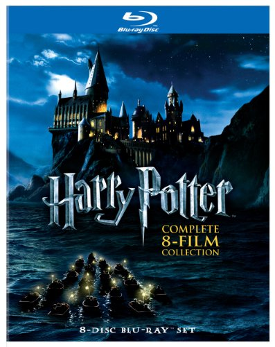 Harry Potter: Complete 8-Film Collection [Blu-ray] (Harry Potter And The Sorcerers Stone English Subtitles)