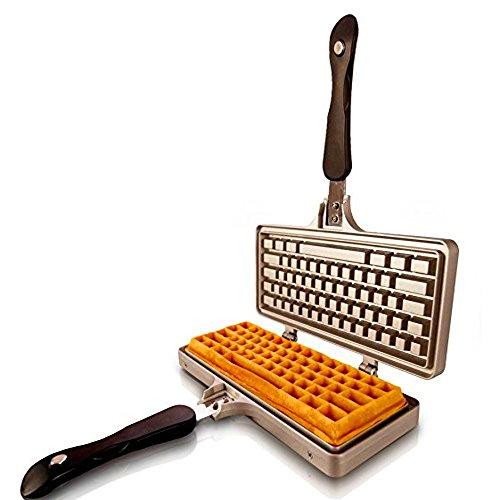 Waffle Iron Pan Modern Design For Kitchen Stove, Grill Non E