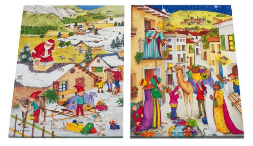 Wawi Chocolate Advent Calendars Set of 4